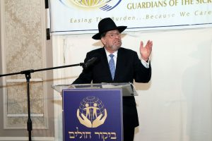 R' Avi Fishof, Director of Bikur Cholim Chesed Organization